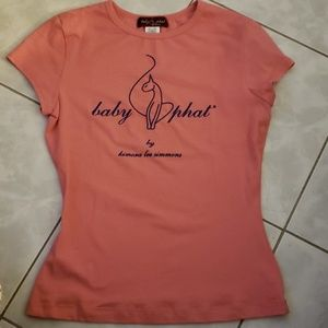 Baby phat Tee Shirt, Size L